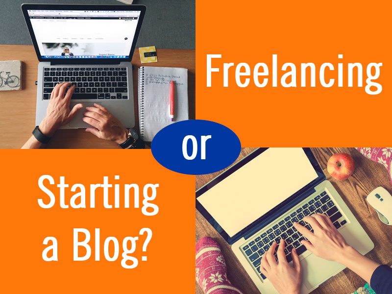 Online Jobs: Freelancing or Starting a Blog