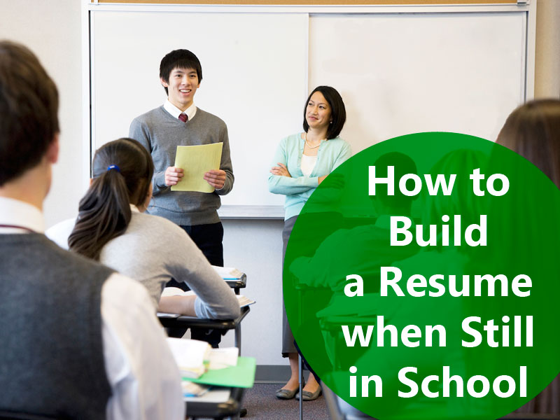 6 Steps to Write a Resume While Studying in School