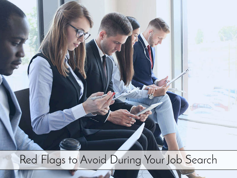 Things to Avoid in the Process of Looking for a Job